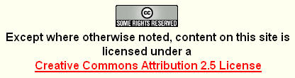 Creative Commons Attribution 2.5 License